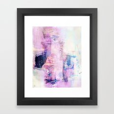 I don't need you  Framed Art Print