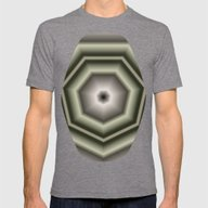 T-shirt featuring Polygon Auras In CMR 03 by Charma Rose
