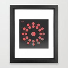 Astron Framed Art Print