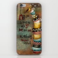 May Your Cup Runneth Ove… iPhone & iPod Skin