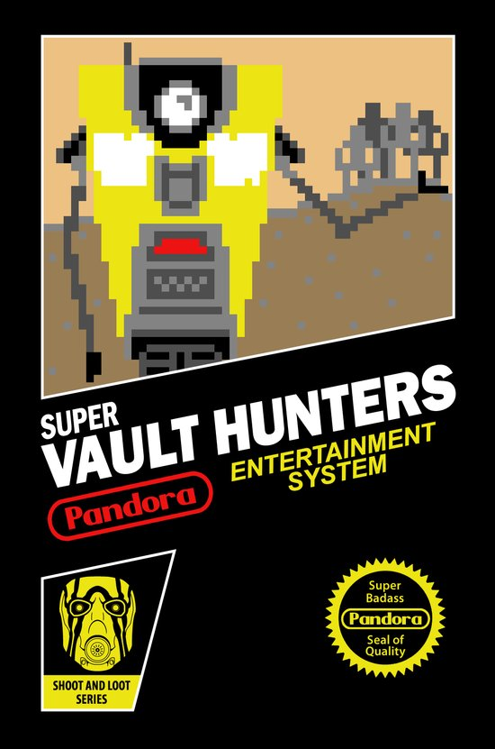 Super Vault Hunters Art Print