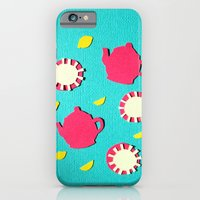 Turquois Tea iPhone 6 Slim Case