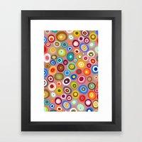 freckle spot blush Framed Art Print