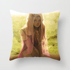 Waiting For Link Throw Pillow