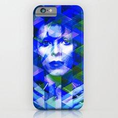 Bowie Geometric Blue iPhone 6 Slim Case
