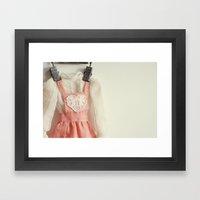 Doll Closet Series - Hea… Framed Art Print