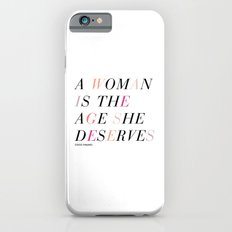 Age She Deserves Slim Case iPhone 6s