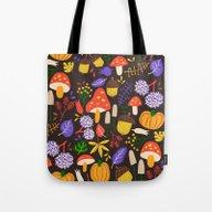 Tote Bag featuring Autumn  by Marijke Buurlage