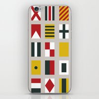 Nautical Flags iPhone & iPod Skin