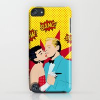 iPod Touch Cases featuring Pow! Bang! Bam! by Serra Kiziltas