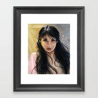 Princess Tamina Framed Art Print