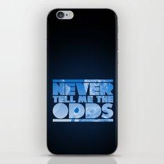THE ODDS iPhone & iPod Skin