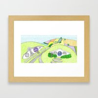 Hobbiton  Framed Art Print