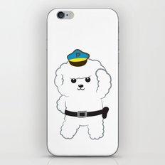 Animal police - Bichon Frisé iPhone & iPod Skin