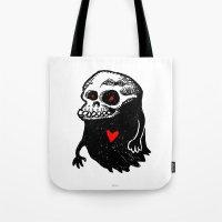 Freddy, the loving Skullghost Tote Bag
