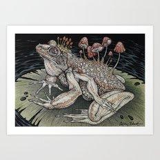 Poisoned Waters art print Art Print