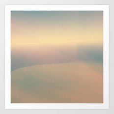 Nature gradients .2 Art Print