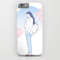 iPhone & iPod Case featuring Spring by Helen Kaur