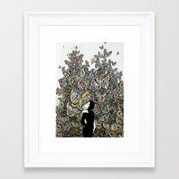 Dream 2: Suspicion of the Unknown Framed Art Print