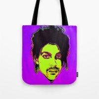 Prince / Warhol Remix Tote Bag