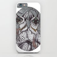 iPhone Cases featuring Gift of Sight art print by Caitlin Hackett