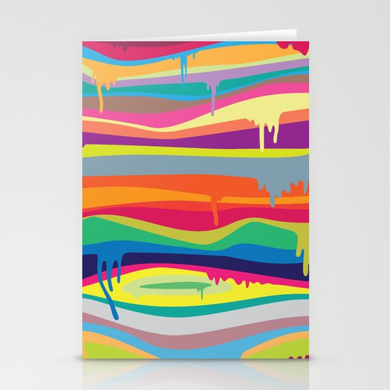 The Melting Stationery Card