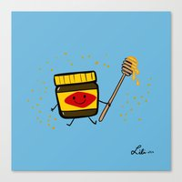Vegemite Honey Canvas Print