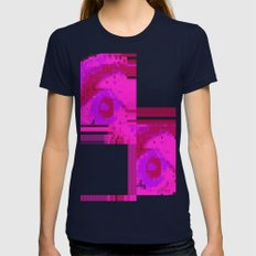 Unforget Womens Fitted Tee Navy SMALL