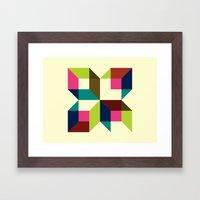 Boxy Music (2010) Framed Art Print