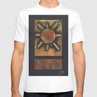 Sunshine Mens Fitted Tee White SMALL