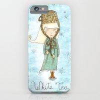 White Tea Girl iPhone 6 Slim Case