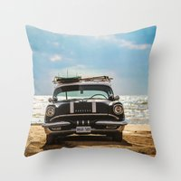 Surf's Up Sauble Throw Pillow