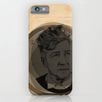 iPhone & iPod Case featuring David Lynch Globe by Ruth Hannah