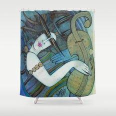 Violon d'Ingres Shower Curtain