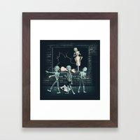 No more Braaaaains!  Framed Art Print