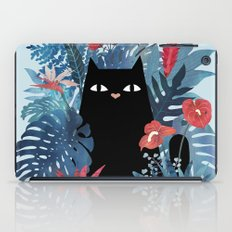 Popoki in Blue iPad Case