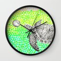 New Friends 1 by Eric Fan and Garima Dhawan Wall Clock