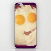 smiley egg iPhone & iPod Skin