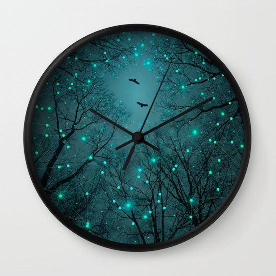 Silently, One by One, the Infinite Stars Blossomed (Geometric Stars Remix) Wall Clock