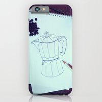 iPhone & iPod Case featuring drawing inspiration by Julia Kovtunyak