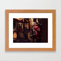 Dragon Age - A moment of Reflection Framed Art Print