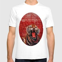 Intense Ferocity Mens Fitted Tee White SMALL