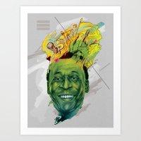 Rey Pele Art Print
