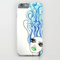 iPhone & iPod Case featuring Lady of the Sea by Bottle of Jo