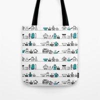 Kitchen Doodle Tote Bag
