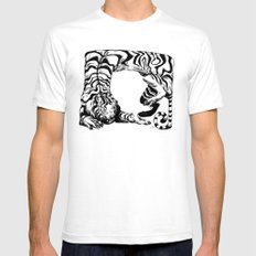 Tiger Tiger Mens Fitted Tee White SMALL