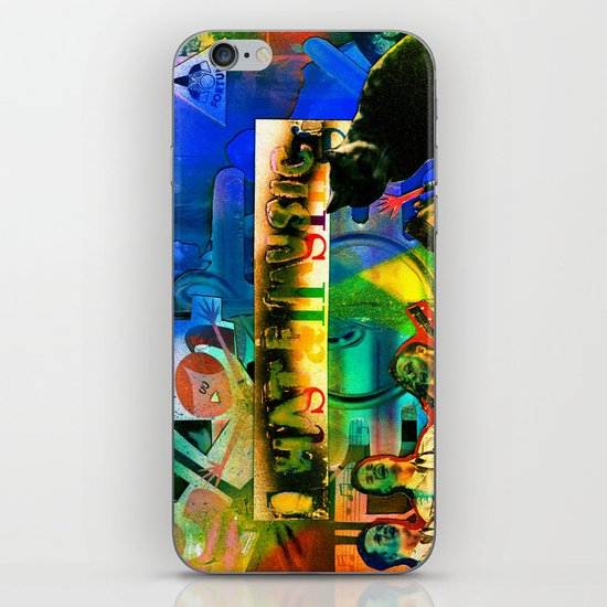 """I Hate Music"" by Cap Blackard iPhone & iPod Skin"