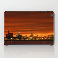 Boston, Christams Night … iPad Case