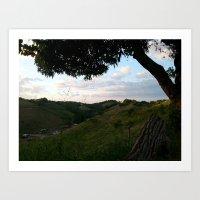 Rincon landscape Art Print