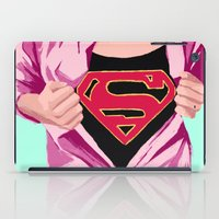 Girl, you're super iPad Case